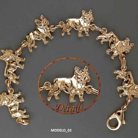 pulsera-oro-bulldog-frances