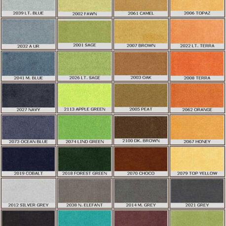 color de tapiceria