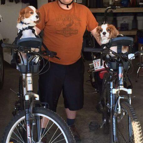 silla- de- bici -para- perro – duo