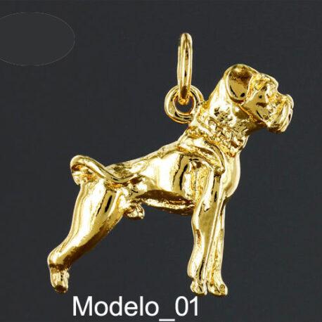 Colgante-Boxer-Oro