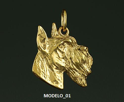 Colgante-schnauzer-oro