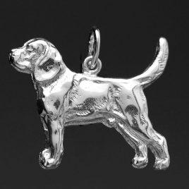 colgante plata Beagle