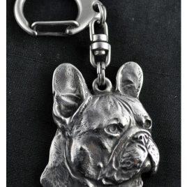 Llavero Bulldog Francés