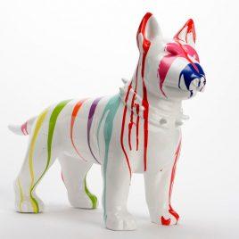 Escultura Bull Terrier