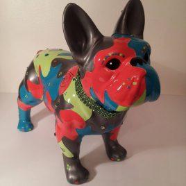 Escultura Bulldog Frances