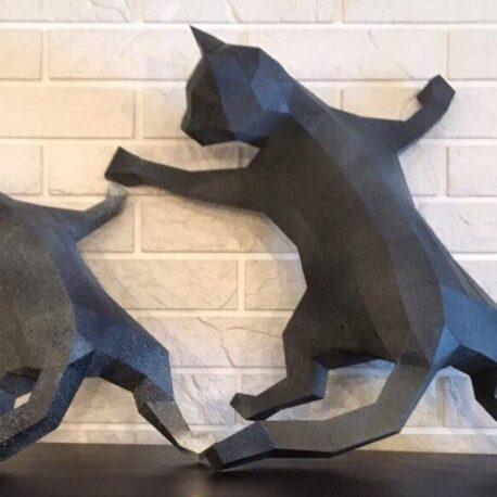 gatos pared01