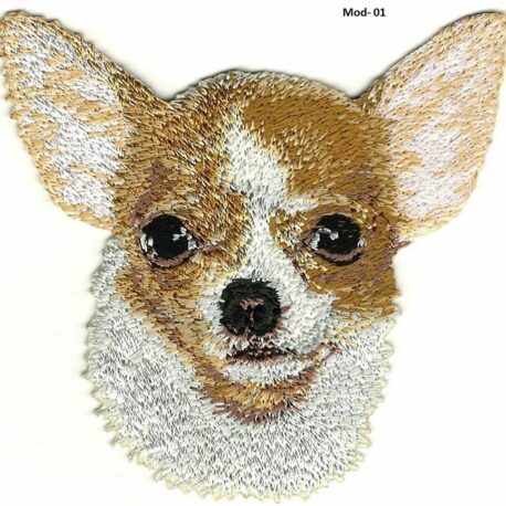 Parche bordado Chihuahua01