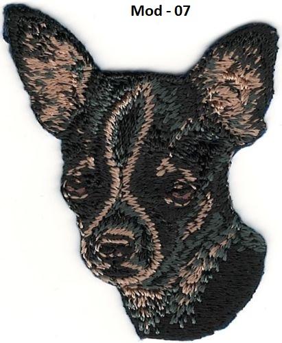 Parche bordado Chihuahua07