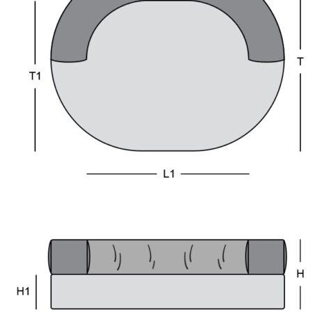 dimensiones L