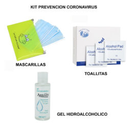 Kit protección Coronavirus