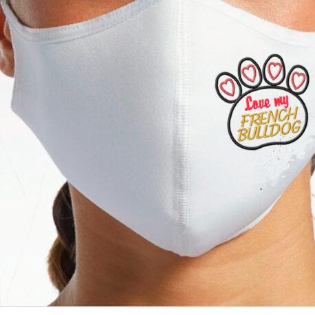 MASCARILLA BLANCA-bulldog