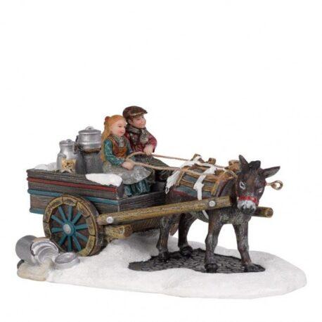 Carro con burro
