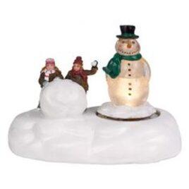 Figura de Muñeco de Nieve