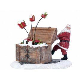 Figura Santa Claus con Regalos